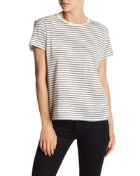 Vince | Black Relaxed Tee | Lyst