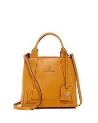Valentino By Mario Valentino - Multicolor Audrey Saffiano Leather Convertible Satchel - Lyst