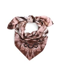 Vince Camuto - Multicolor Cosmic Bloom Square Silk Scarf - Lyst