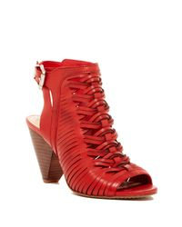 Vince Camuto | Red Emore Leather Sandal | Lyst