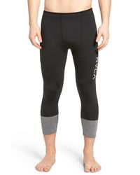 RVCA | Black Sport Defer Compression Pants for Men | Lyst