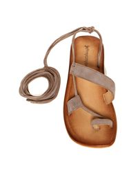 Jeffrey Campbell - Brown Vista Strappy Sandal - Lyst