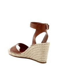 Vince Camuto - Brown Tagger Espadrille Wedge Sandal - Lyst