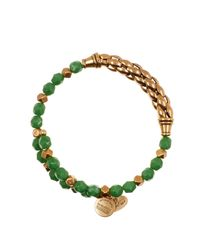 ALEX AND ANI - Green Pasture Harmony Wrap Bracelet - Lyst