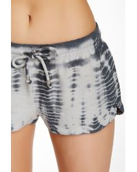 Gypsy 05 - Gray French Terry Drawstring Lounge Short - Lyst