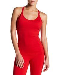 Alo Yoga | Red Lotus Bra Tank | Lyst