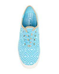 Keds - Blue Ikat Sneaker - Lyst