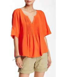 Sanctuary | Orange Embroidered Willow Blouse | Lyst
