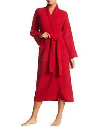 Natori | Red Knit Robe | Lyst