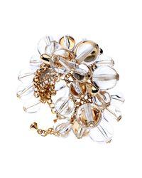 Ted Baker - Metallic Juna Simulated Pearl Cluster Bracelet - Lyst