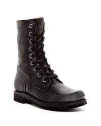 DIESEL | Black Ruggst D-komtop Boot for Men | Lyst