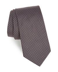 BOSS - Multicolor Dot Silk Tie for Men - Lyst