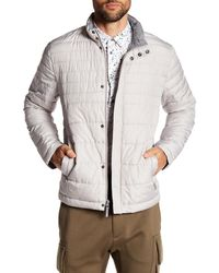 Kenneth Cole - Multicolor Matte Quilted Winter Coat for Men - Lyst