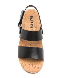Kork-Ease - Black Truett Platform Sandal - Lyst