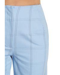 Paul & Joe - Blue Window Pane Wide Leg Pant - Lyst