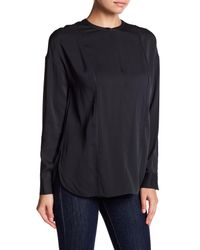 Vince - Blue Embroidery Stitch Blouse - Lyst