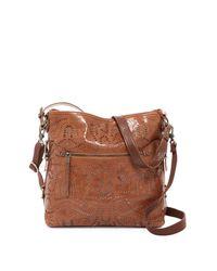 The Sak - Brown Sanibel Leather 2-tone Bucket Bag - Lyst