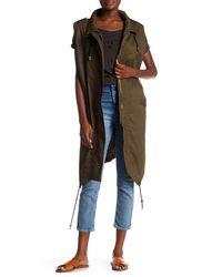 Soprano - Multicolor Long Oversized Vest - Lyst