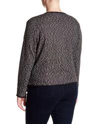 Joe Fresh - Gray Drapey Blazer (plus Size) - Lyst