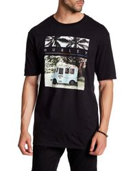 Hurley | Black Sharks Cove Graphic Tee for Men | Lyst