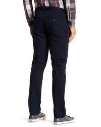 "Original Penguin - Blue Bedford Solid Stretch Pants - 32"" Inseam for Men - Lyst"