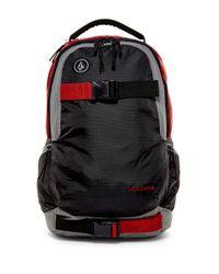 Volcom - Red Vagabond Backpack for Men - Lyst