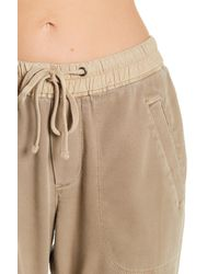 James Perse Natural Soft Drape Utility Pants