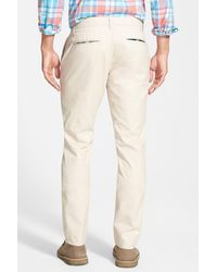 Bonobos - Natural Tailored Fit Washed Chinos for Men - Lyst