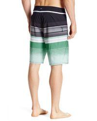 Quiksilver - Green Everyday Stripe Boardshort for Men - Lyst