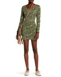 RVCA - Green Easy Kill Back Cutout Dress - Lyst