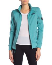 The North Face - Blue Amazie Mays Full Zip Jacket - Lyst