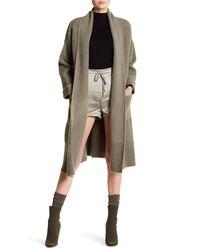Six Crisp Days - Multicolor Faux Fur Long Sweater - Lyst