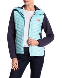 Helly Hansen - Blue Verglas Quilted Hooded Jacket - Lyst