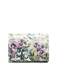 Ted Baker Blue Enchantment Highbox Small Leather Purse