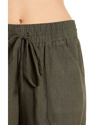 Allen Allen - Multicolor Long Linen Pants - Lyst