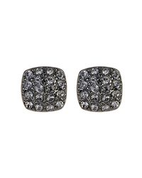 Givenchy - Multicolor Crystal Pave Cushion Stud Earrings - Lyst