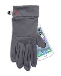 Polo Ralph Lauren - Gray Classic Sport Tech Gloves for Men - Lyst