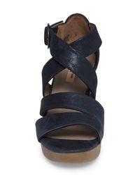 Paul Green   Multicolor Nia Platform Sandal   Lyst