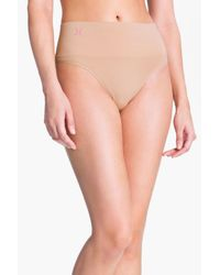 Yummie By Heather Thomson - Natural 'jasmine' Shaping Thong - Lyst