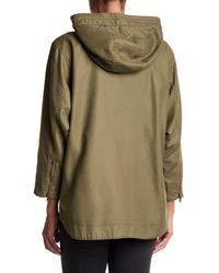 Joie - Green Camea Hooded Jacket - Lyst