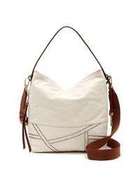 Fossil - Multicolor Maya Small Leather Hobo Bag - Lyst