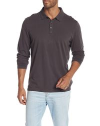 Robert Barakett - Gray 'banff' Regular Fit Polo for Men - Lyst