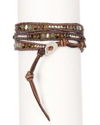 Chan Luu   Multicolor Stone Mix Beaded Wrap Bracelet   Lyst