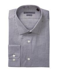 John Varvatos - Multicolor Patterned Slim Fit Dress Shirt for Men - Lyst