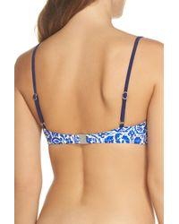 Nanette Lepore - Blue Talavera Bikini Top - Lyst