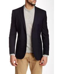 Nicole Miller - Blue Navy Two Button Notch Lapel Suit Separates Jacket for Men - Lyst