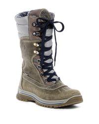 Santana Canada - Gray Modena Wool Lined Waterproof Boot - Lyst