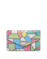 Lodis - Multicolor Zaragoza Maya Leather Card Case - Lyst