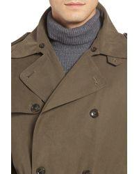 London Fog - Green Trench Coat for Men - Lyst