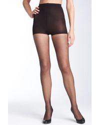 Donna Karan - Black Ultra Sheer Control Top Pantyhose - Lyst